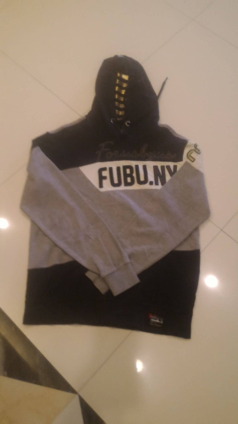 PRE LOVED FUBU.NY THE COLLECTION SWEATSHIRT HOODIE
