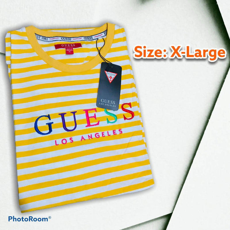 KMOS GUESS STRIPES UNISEX X-Large