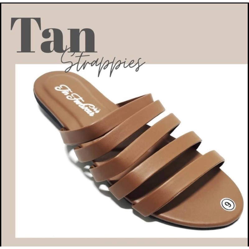 AOB: Strappies Flat Sandals