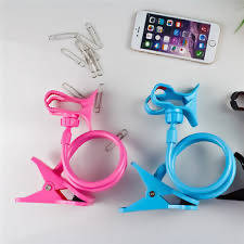 Lazy pod phone holder