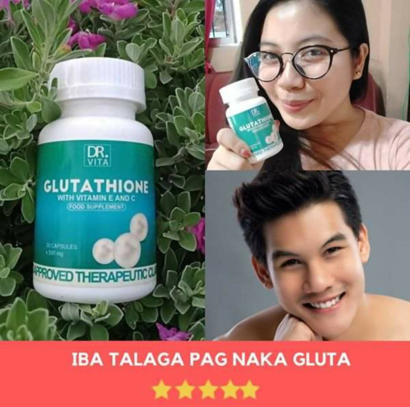 DR. VITA GLUTATHIONE WITH VITAMIN E AND C