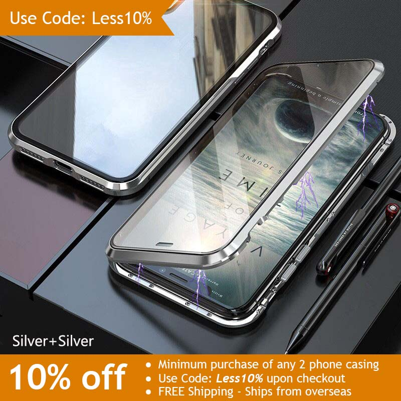 Double-sided magnetically absorbing metal back cover - Use Code: Less10%