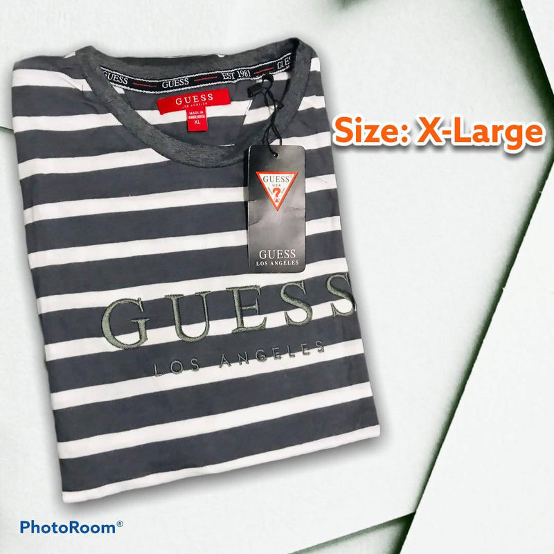 KMOS GUESS STRIPES UNISEX X-Large 2