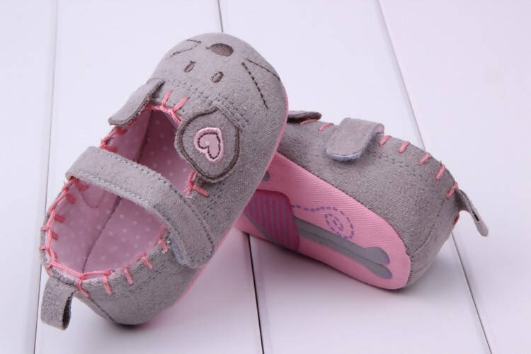 BC Little Mouse Baby Girl Shoes