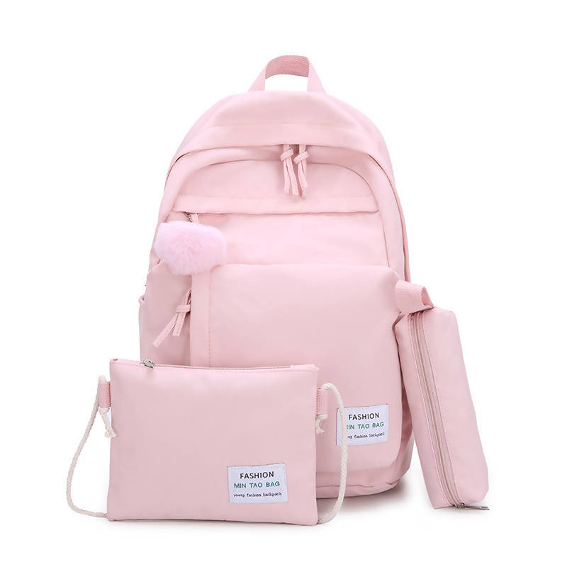 Korean Casual Rucksack 3 in 1 Waterproof Backpack
