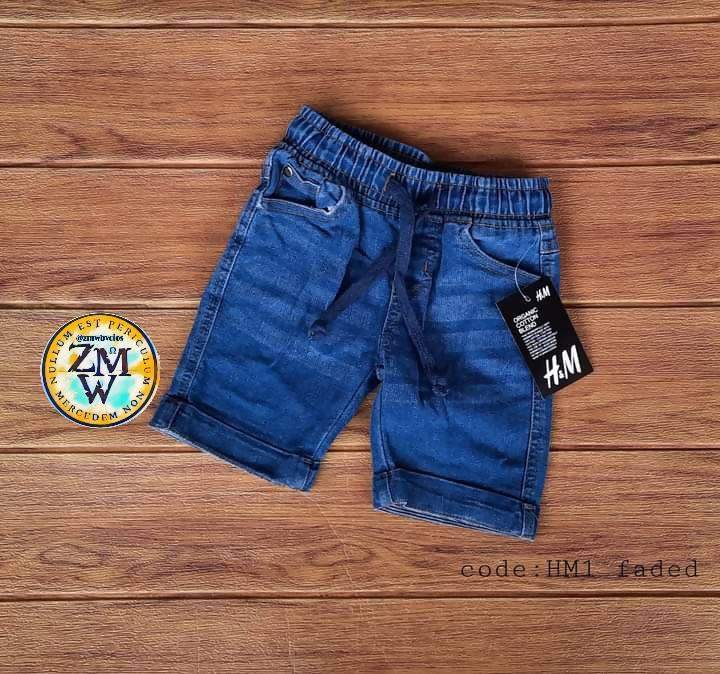 KIDS DENIM SHORTS Item code: ZMW2361-CSDS