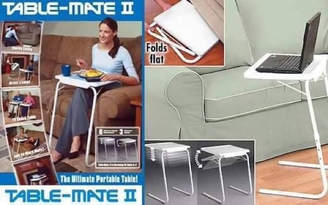 Foldable table, multifunctional table