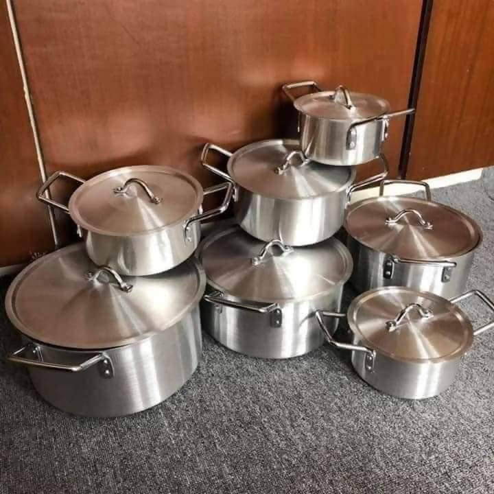 14PCS ALUMINUM COOKING POT SET BEST SELLER KITCHEN ITEMS