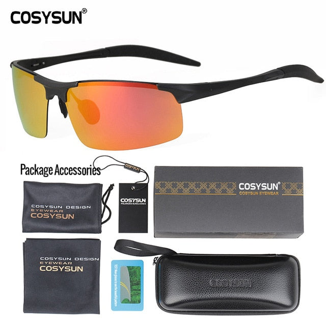 Mirror Lens Polarized Driving Sunglasses - Use Code: Less40%
