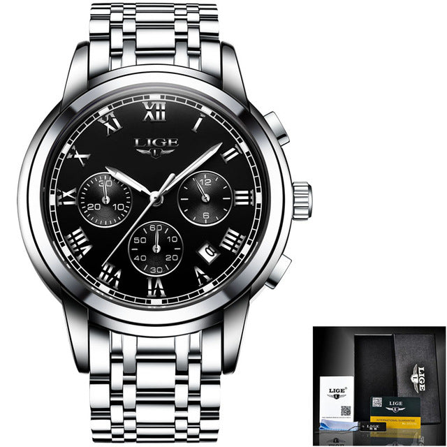 New  Luxury Chronograph Men's Sport Watch