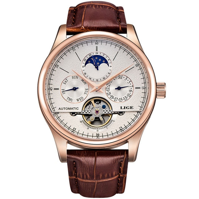 Automatic Mechanical Tourbillon Watch