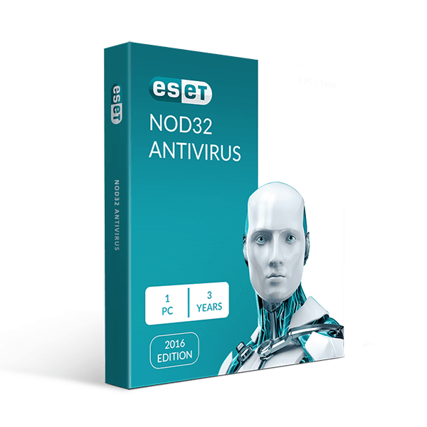 Eset Nod32 Antivirus 1 PC 3 Years