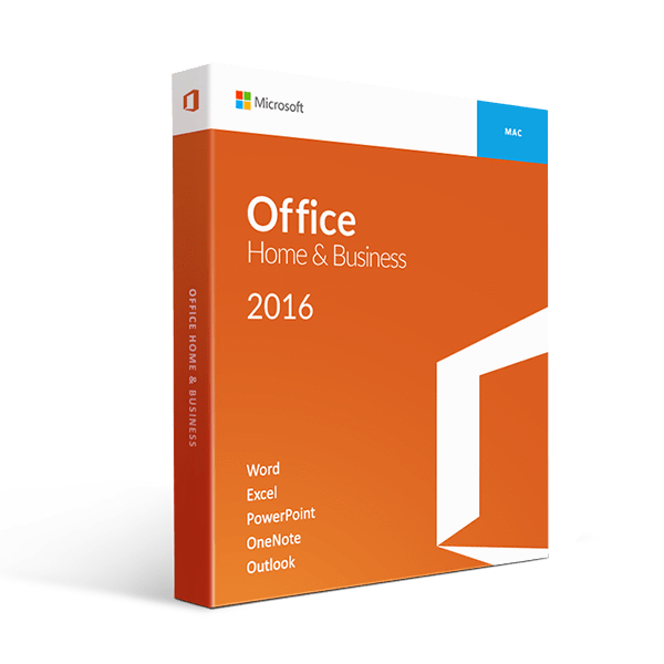 Mac Office Home And Business 2016 Retail 1 User