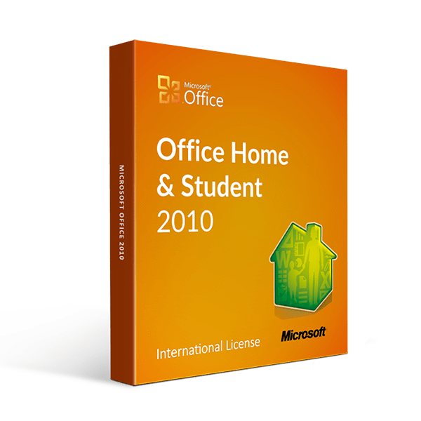 Microsoft Office Home And Student 2010 International License