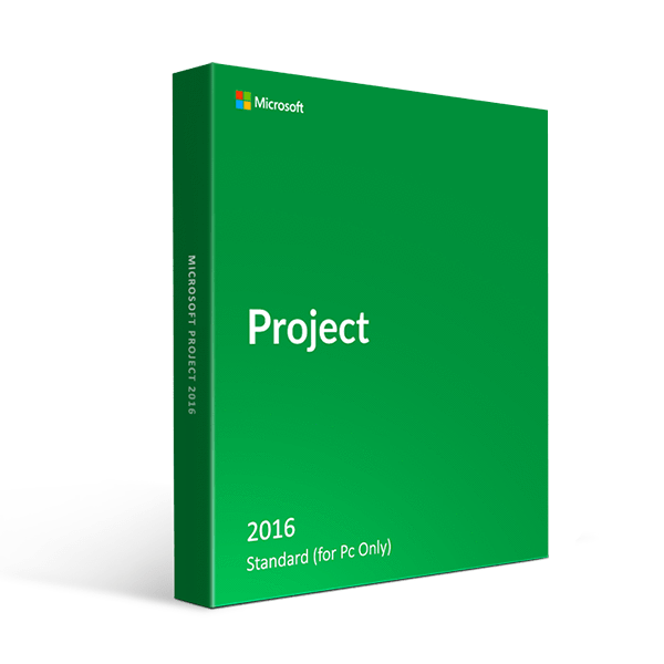 Microsoft Project Standard 2016 (For Pc Only)