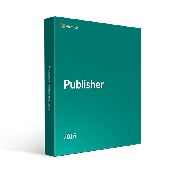 Microsoft Publisher 2016 (For Windows Pc Only)