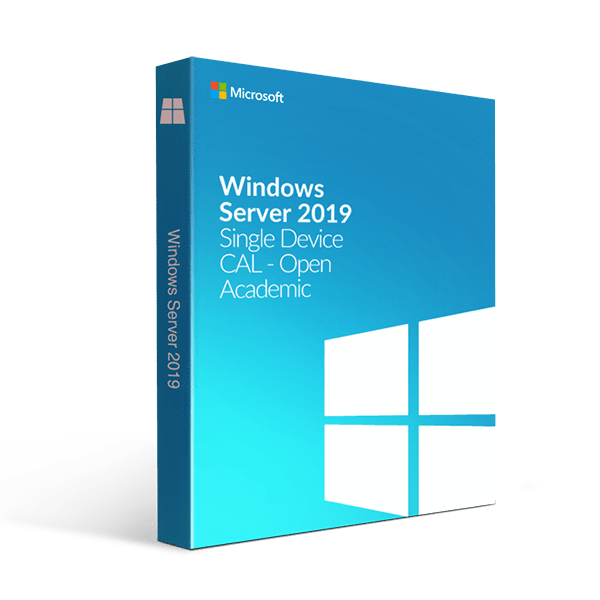 Microsoft Windows Server 2019 Single Device Cal Open Academic
