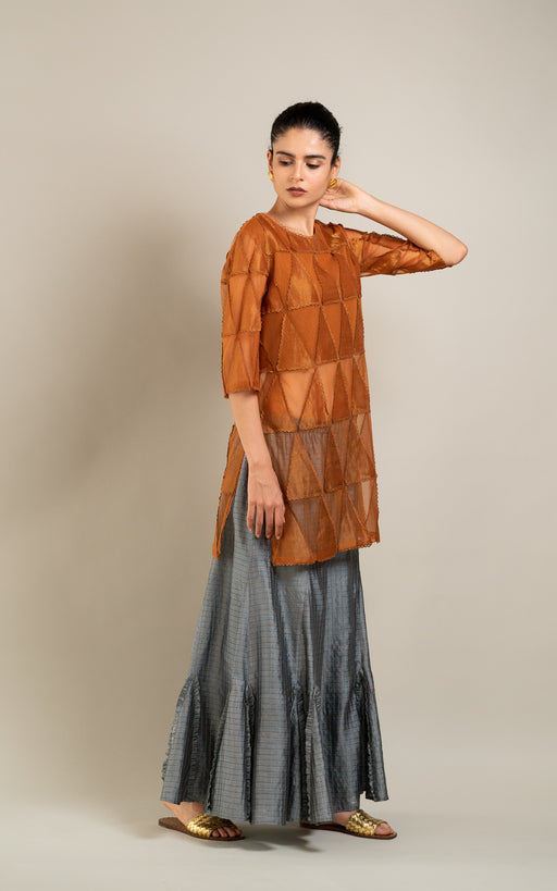 BIRDWALK SILK SKIRT