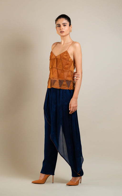 BIRDWALK  PLEAT TROUSER