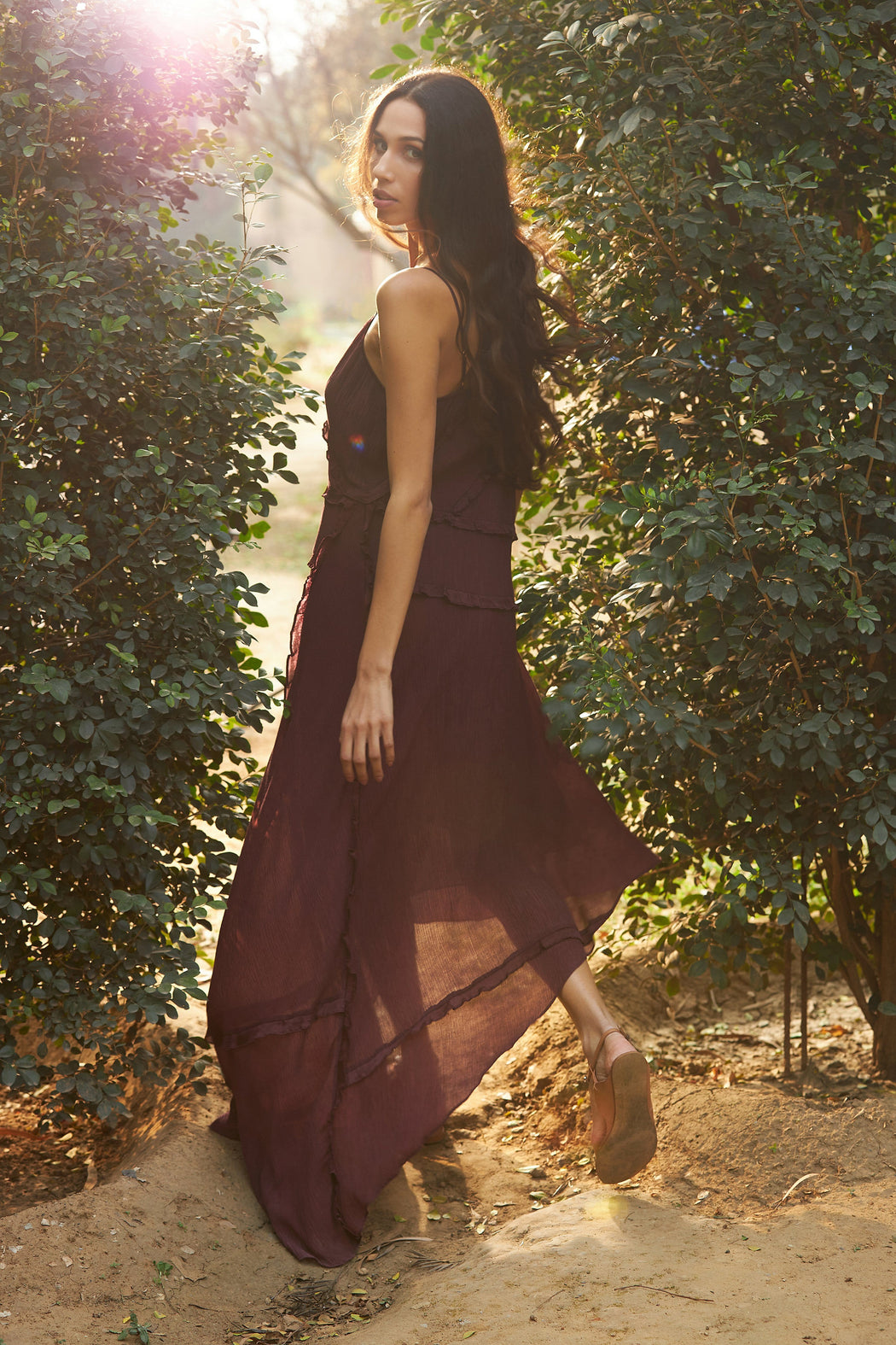 BIRDWALK BOHEMIAN SLIP DRESS