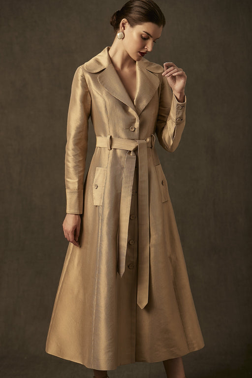 BIRDWALK GOLD TRENCH