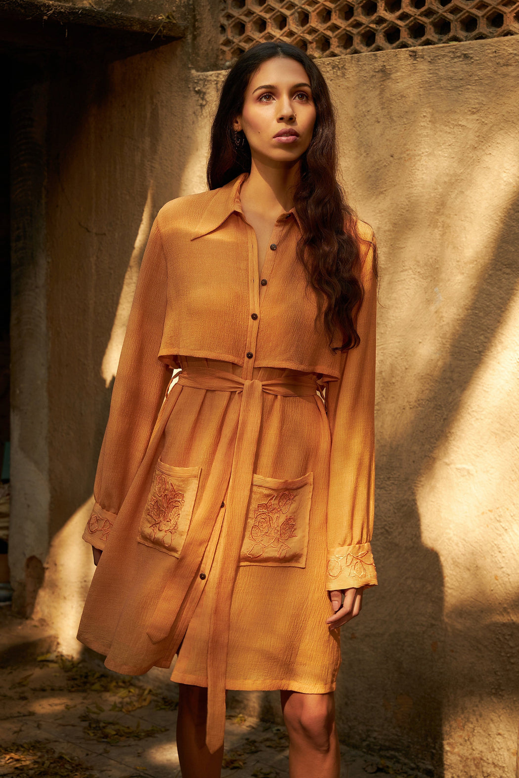 BIRDWALK TRENCH STYLE DRESS