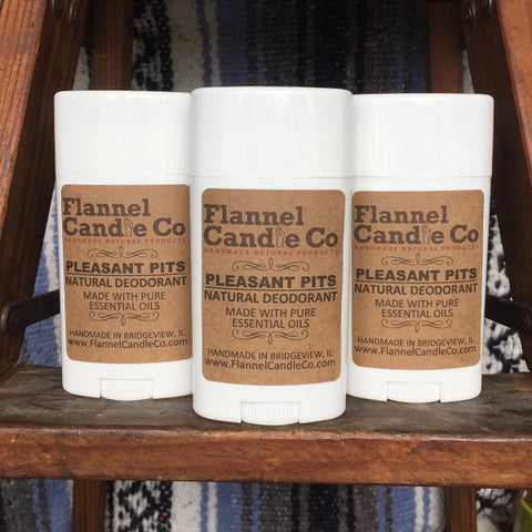 Pleasant Pits All Natural Deodorant