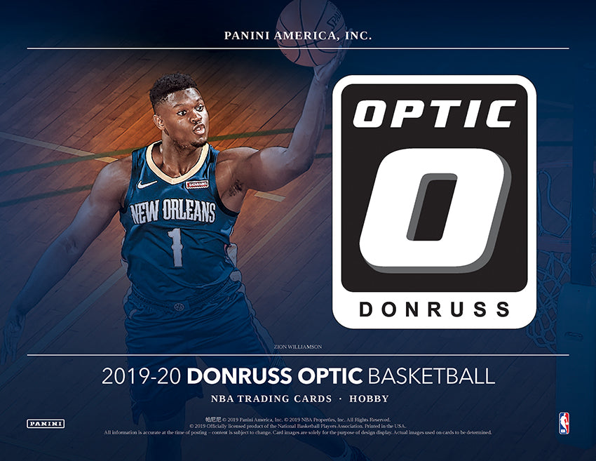 2019-20 Donruss Optic Basketball Revealed - Gold Vinyl Hunting!
