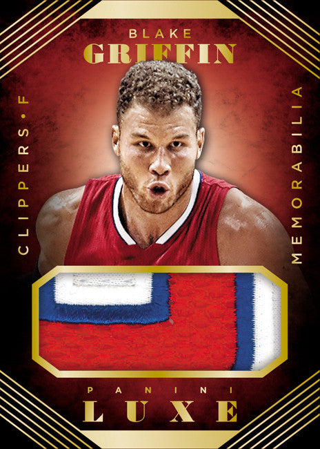 Panini America's First Look at 2015-16 Luxe Basketball PLUS Kevin Durant Collection