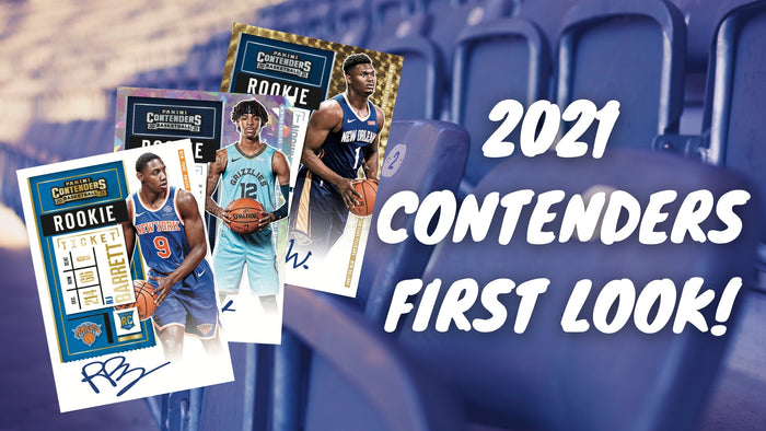 2020-21 Panini Contenders Basketball First Look!