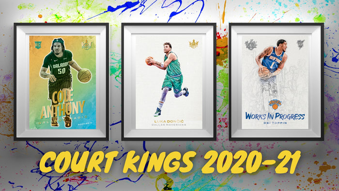 New Panini 2020-21 Court Kings Basketball Is Coming!