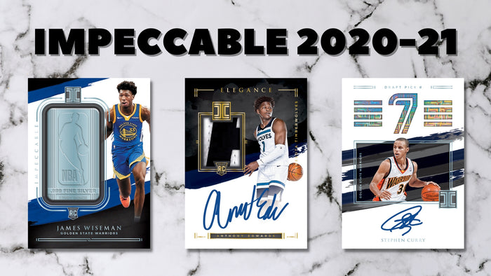 Panini 2020-21 Impeccable Basketball Preview!