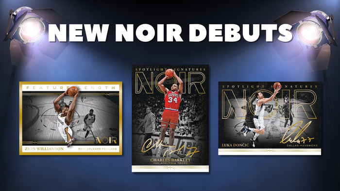 Panini 2020-21 Noir Basketball Debut!