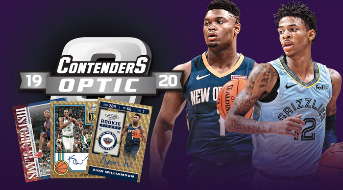 2019-20 Contenders Optic Basketball First Look!