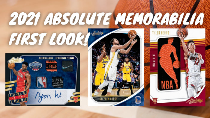 Panini Absolute Memorabilia 2021 First Look!