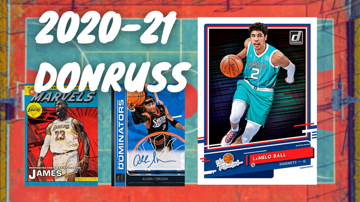 2020-21 Donruss Basketball Gets a Preview!
