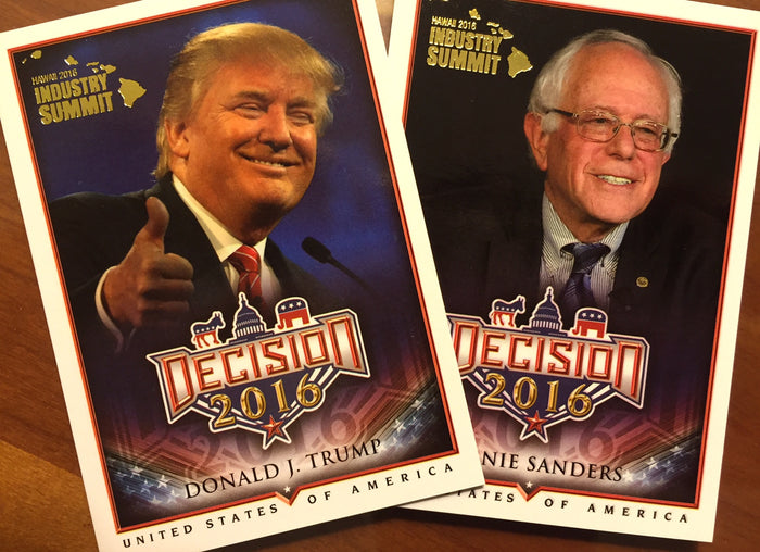 Donald Trump has a trading card? Cherry Report - Beckett Industry Summit 2016!
