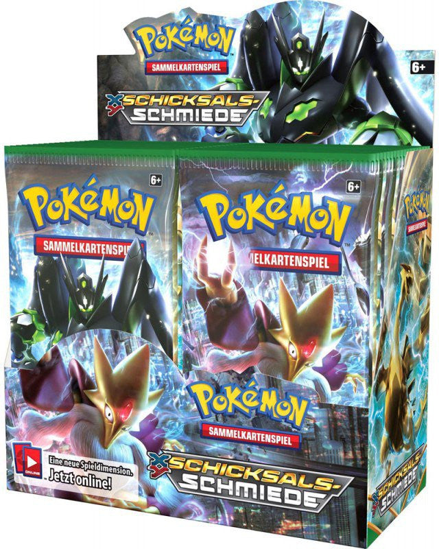Pokemon XY10 'Fates Collide' Booster Packs and Theme Decks Revealed!