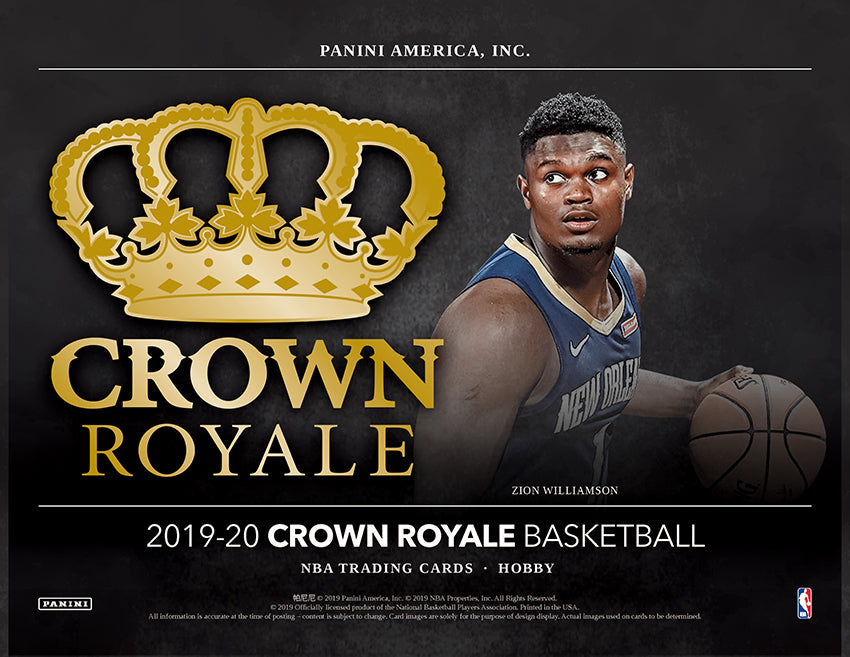 Panini Gets Regal With 2019-20 Crown Royale Basketball!
