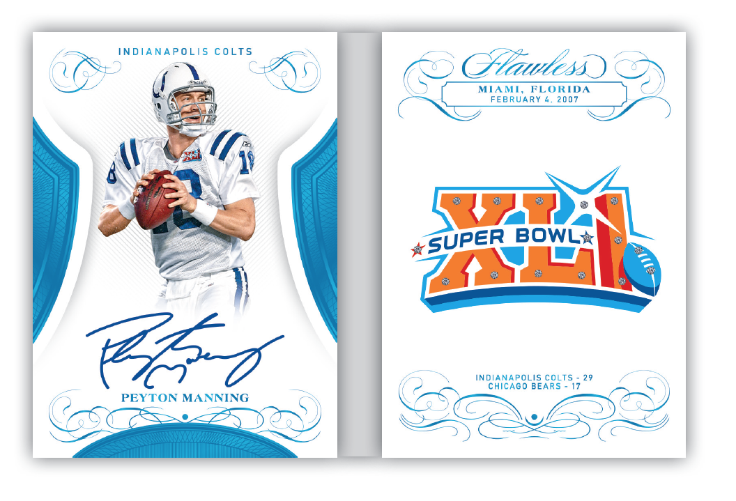 More High End Football Cards Revealed - 2019 Flawless Football Gallery