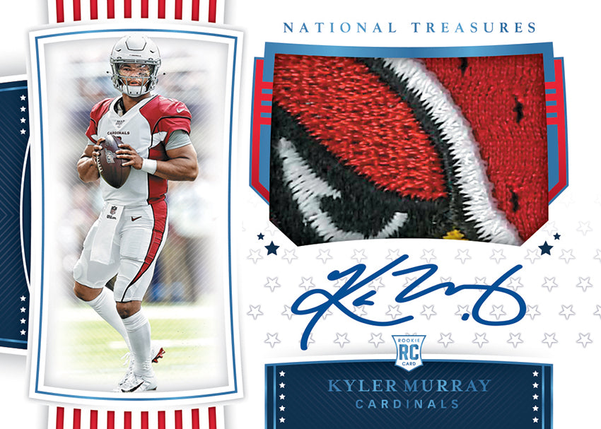 Get Your First Look at the Upcoming 2019 National Treasures Football!