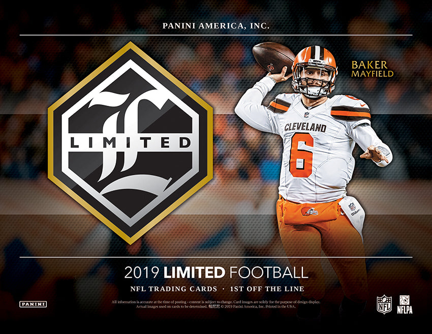 Panini 2019 Limited Football Reveal Quad Signature Booklets!