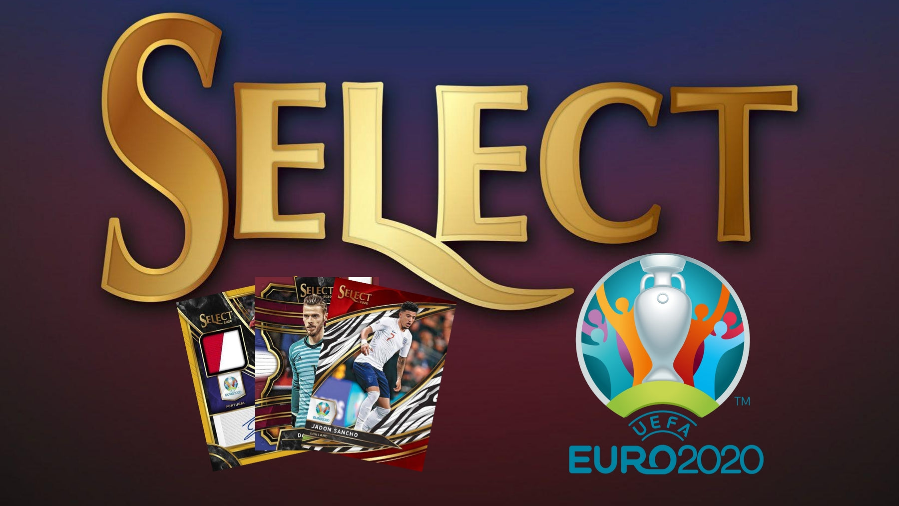 2020 Panini Select UEFA Euro Soccer Cards Debut!