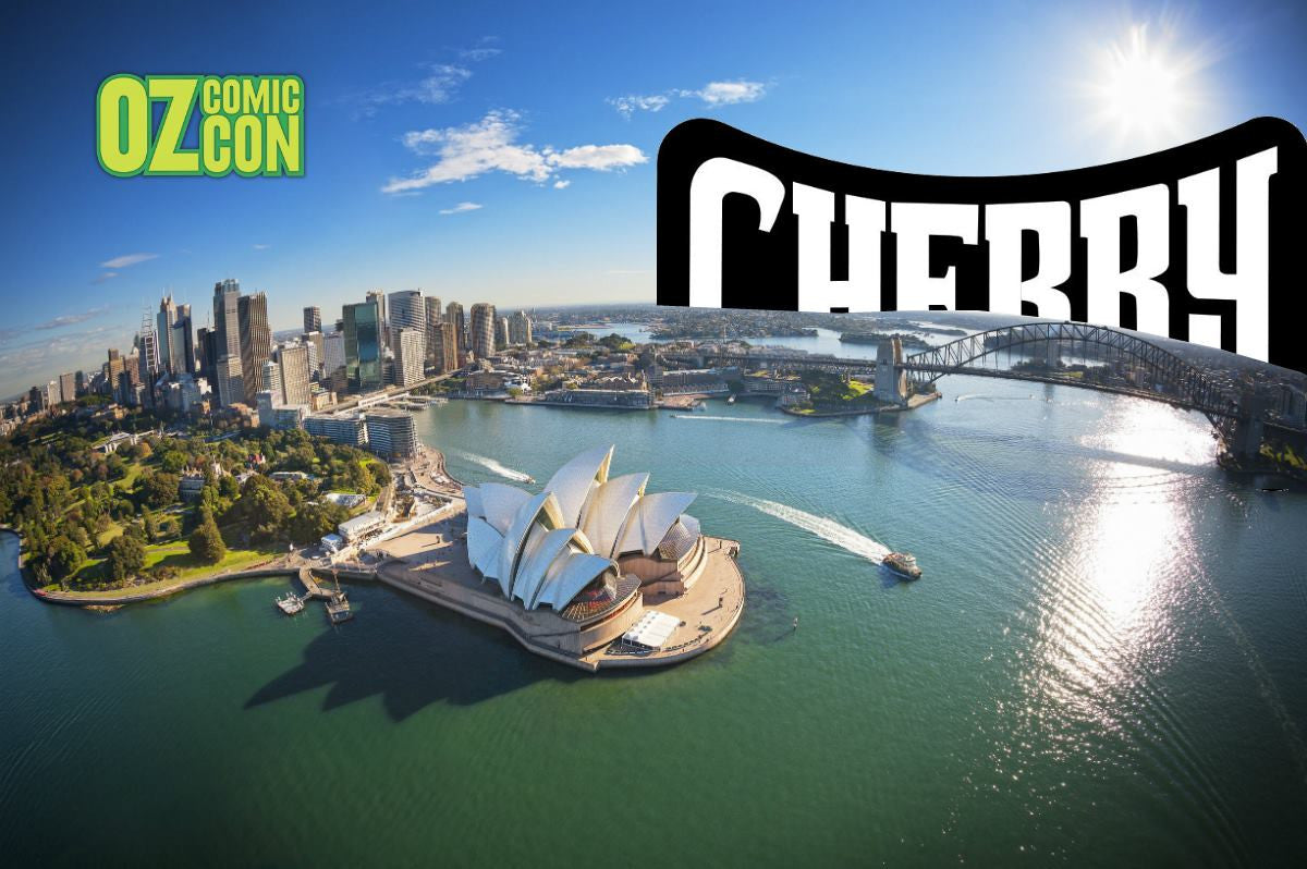 Oz ComicCon Sydney 2016 - Cherry Goes LIVE!