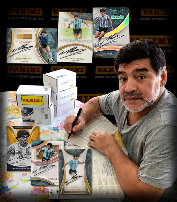2017 Immaculate Soccer - First Ever Diego Maradona Autograph Cards?!