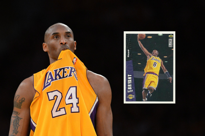 Top 5 Kobe Bryant Cards