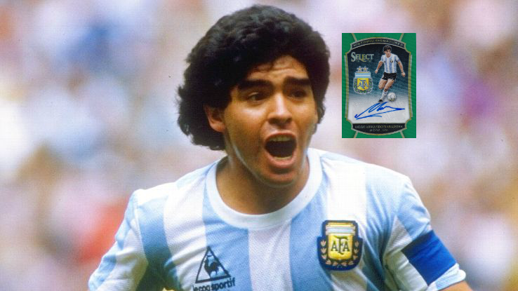 Top 5 Diego Maradona Cards