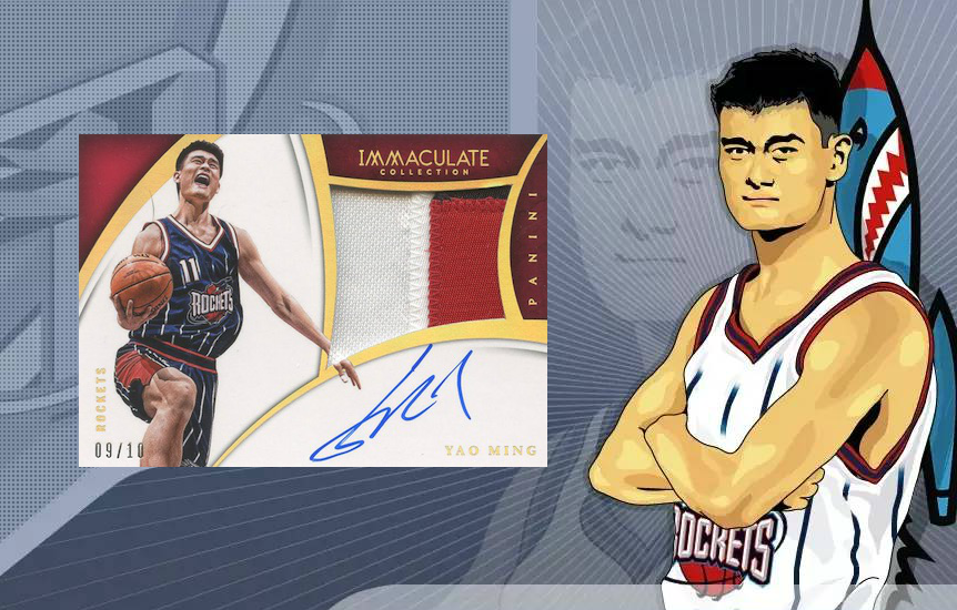 Top 5 Yao Ming Cards
