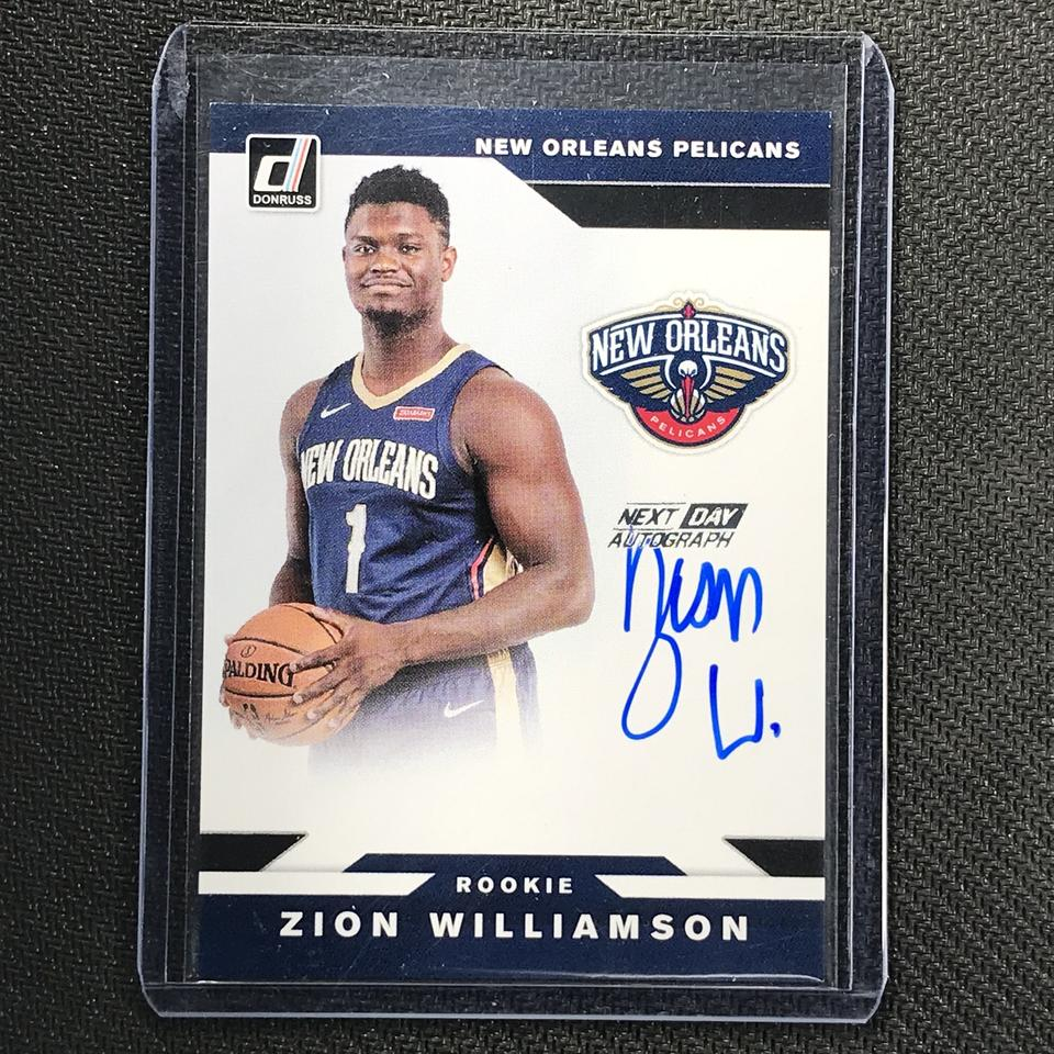 Top Zion Williamson Cards