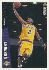 1996-97 COLLECTOR'S CHOICE KOBE BRYANT RC #267